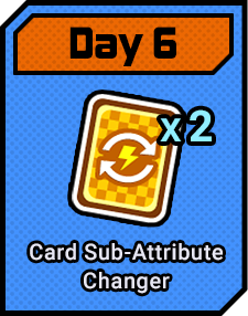 Day6 Card Sub-Attribute Changer