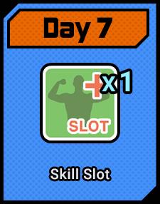 Day7 Skill Slot
